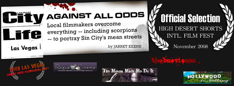 Vegasland Press, News Articles, Review, Las Vegas City Life Against All Odds - Jarret Keene, High Desert Shorts Film Festival